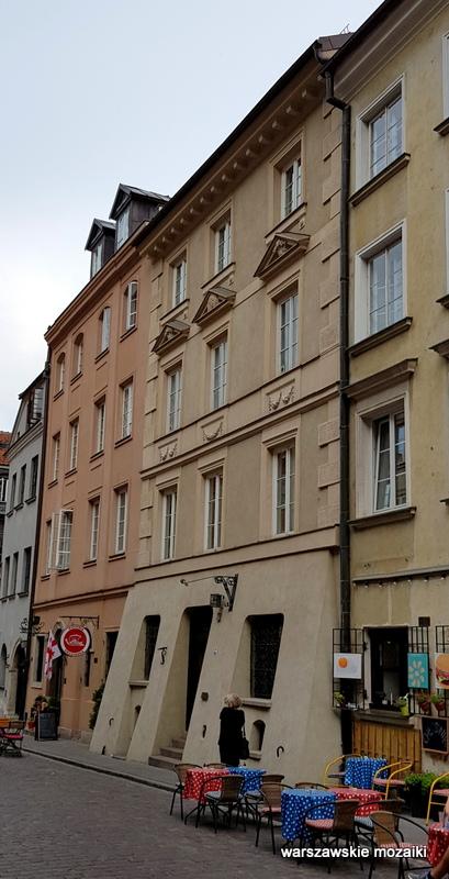 Warszawa Warsaw Stare Miasto ulice Starego Miasta oficyna kamienica architektura