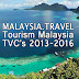 Tourism Malaysia TV Commercials 2016