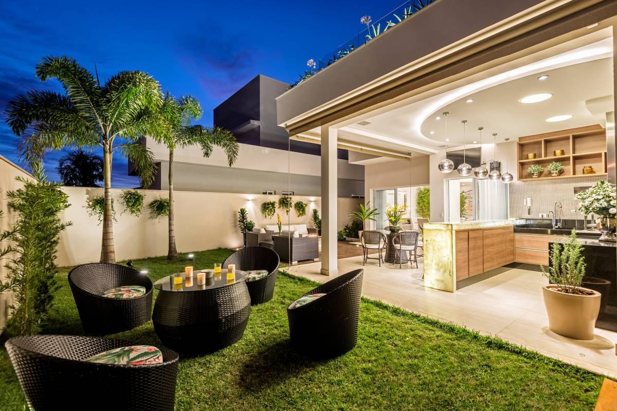 Rea De Churrasco Com Lounge Externo E Lareira Linda Decorsalteado