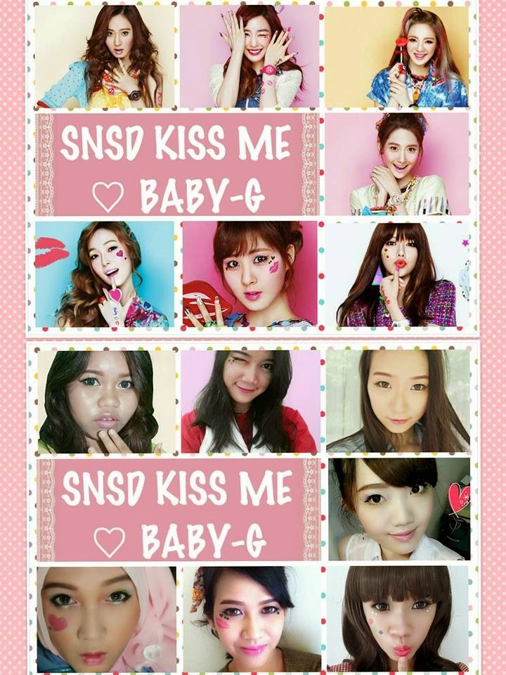 snsd casio baby g makeup collaboration