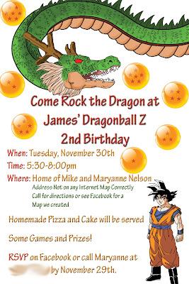 Crafty Mommy Diva Dragonball Z Birthday
