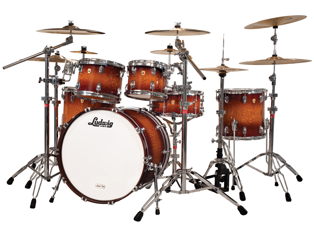legacy exotic lacewood in mahogany burst find your drum set drum kits gear percussion. Black Bedroom Furniture Sets. Home Design Ideas