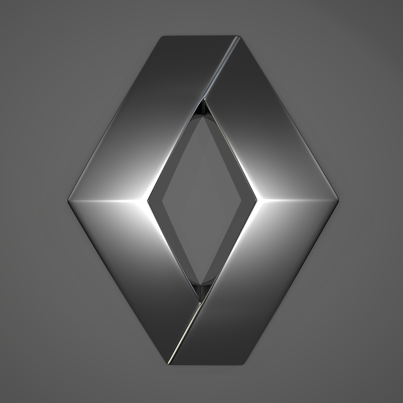 India Wallpaper 3d Renault Logo 2013 Geneva Motor Show