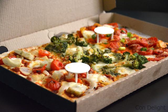 פיצת שף ארוחת טעימות Chef's pizza tasting meal