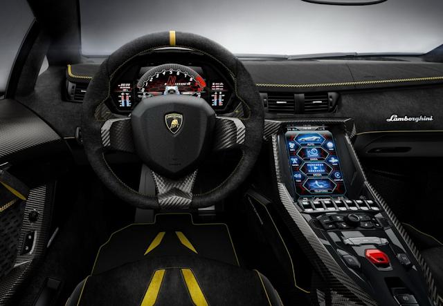 2017 Lamborghini Centenario Interior