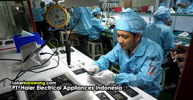 Lowongan Kerja PT. Haier Electrical Appliances Indonesia EJIP Cikarang