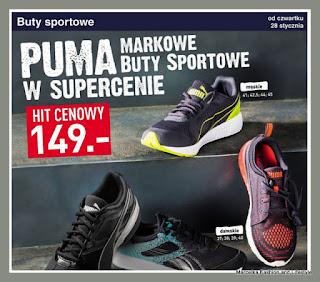 070fccb1 Lidl gazetka 02.05.2017 Maj - klapki Umbro, buty Puma, torba sportowa Puma