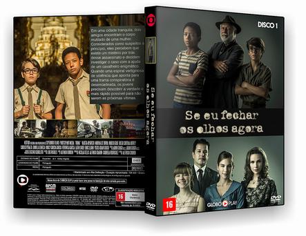 CAPA DVD – SÉRIE Se Eu Fechar Os Olhos Agora T01 D01 – AUTORADO