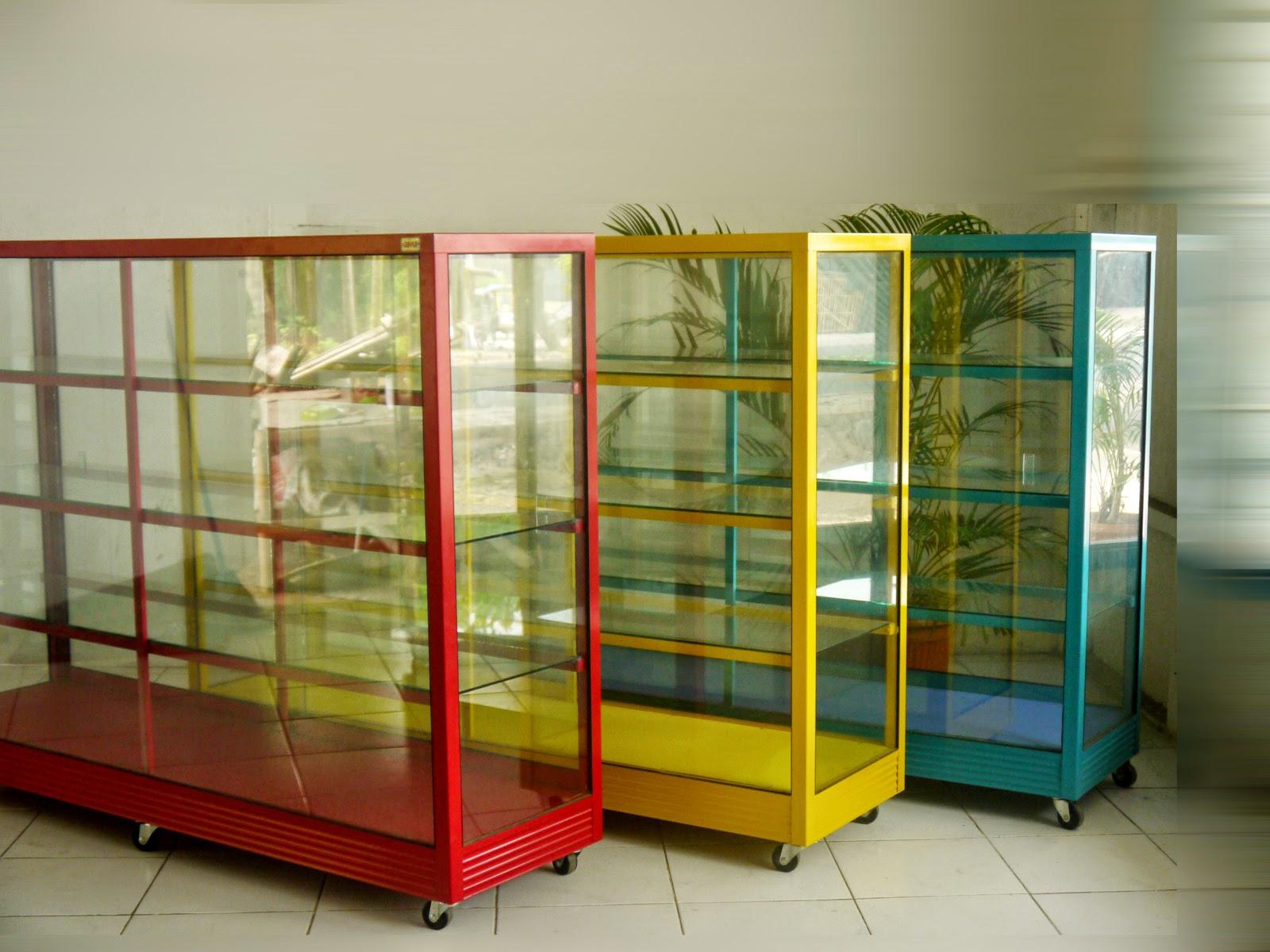 23 Model Dan Harga Etalase Kaca Alumunium Lengkap Dengan Gambarnya Rak Dinding Dapur Toko Sembako