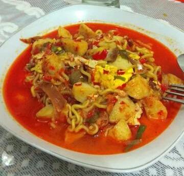 Resep Balado Kuah dari Mie Instan Masakan Padang
