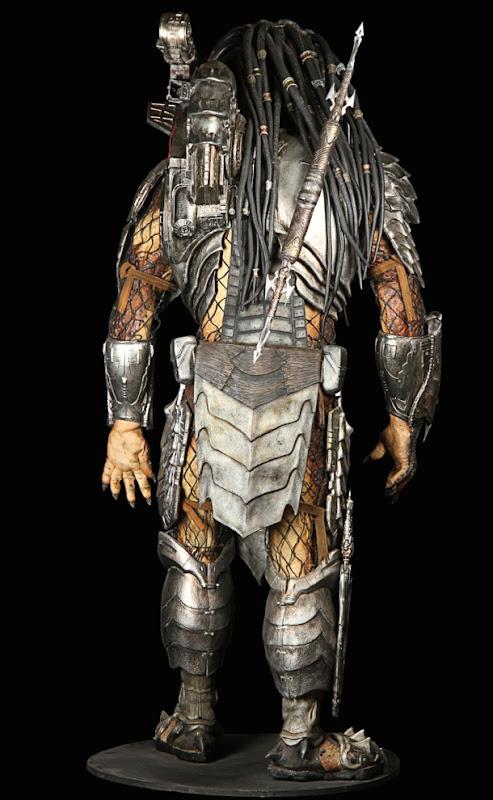 Predator costume back AVP Alien vs Predator