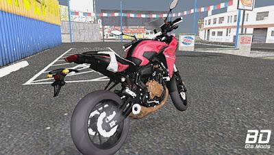 Mod , Moto, Yamaha ,TRACER 700 para GTA San Andreas, GTA SA