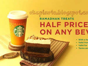 Ramadhan Treat Starbucks