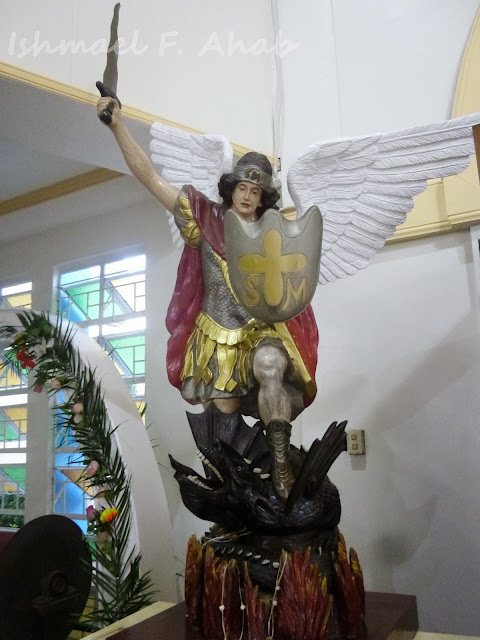 Icon of St. Michael in the Shrine of Our Lady of Grace