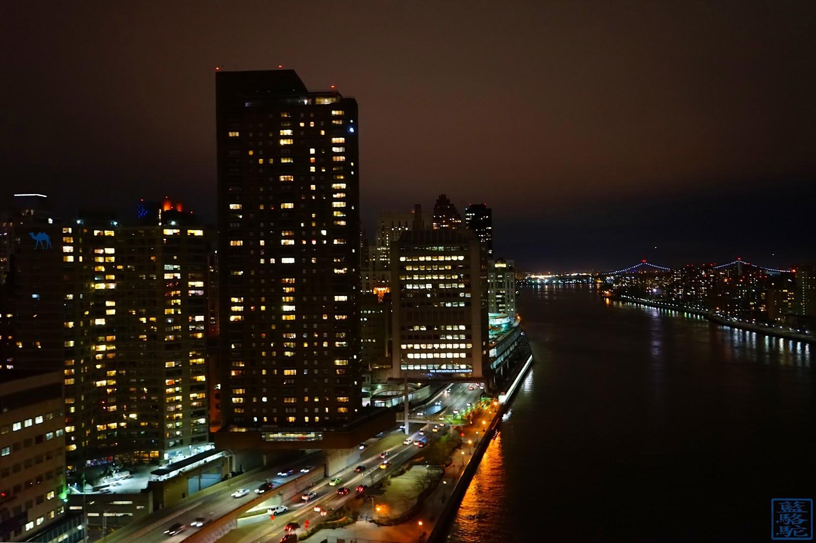 Le Chameau Bleu - Blog Voyage New York City - Vue depuis le téléphérique de roosevelt island New York