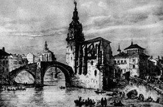 Puente de San Antón en Bilbao