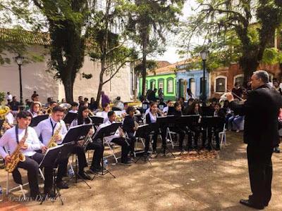 Banda Municipal de Cananeia é contemplada no Programa de Ações Sociais de Estado de São Paulo
