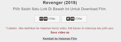 Halaman Link Download film IndoXXI