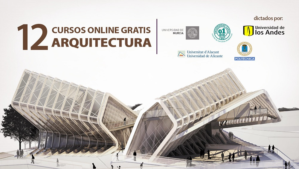 12 cursos gratis de arquitectura dictados por reconocidas