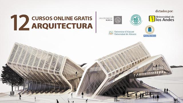 12 cursos gratis de arquitectura dictados por reconocidas for Universidades para arquitectura