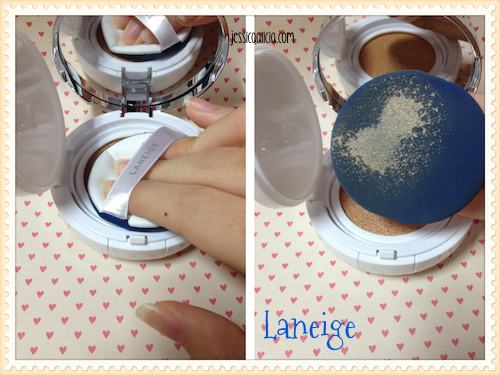 Comparison : Etude House Any Cushion & Laneige BB Cushion by Jessica Alicia