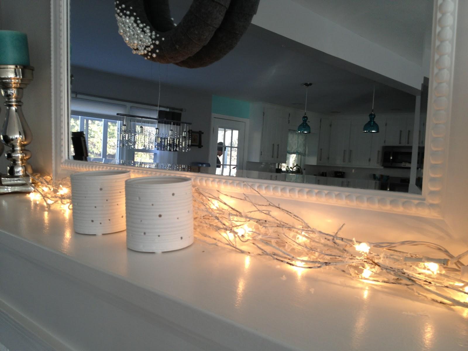 the best attitude e00e0 95e52 Fireplace Mantel String Lights