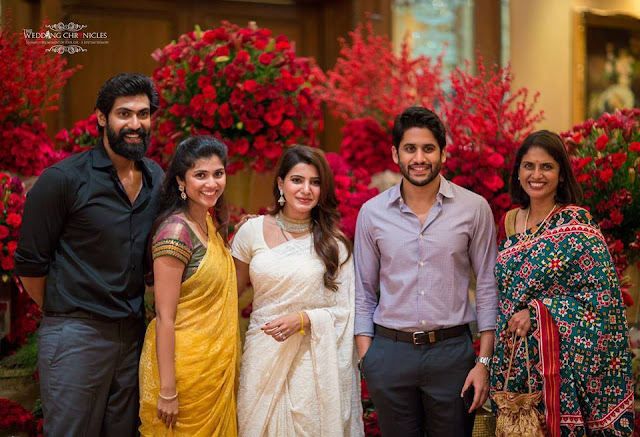 Samantha Naga Chaitanya After Marriage Party