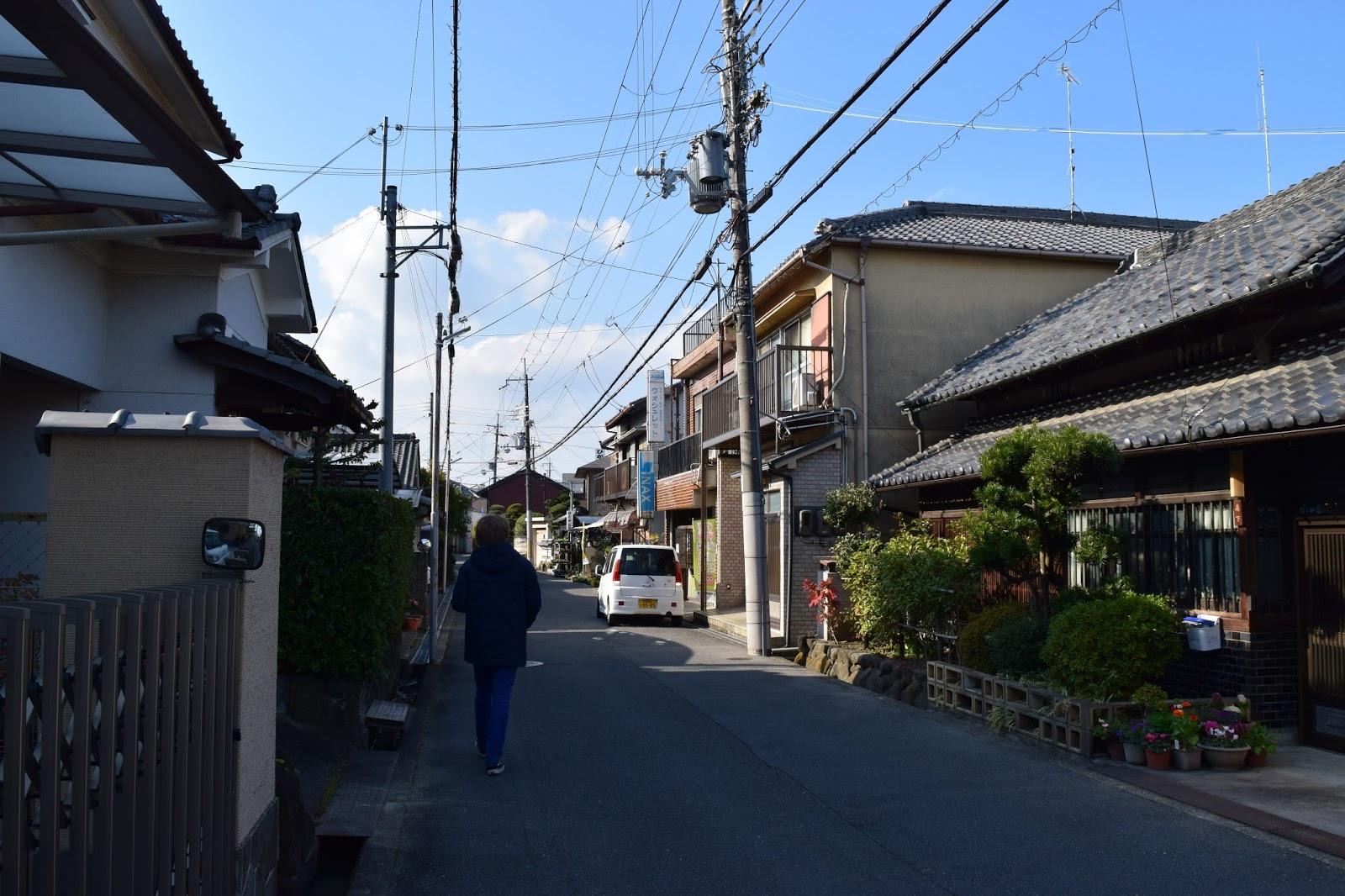 Nara Horyuji street