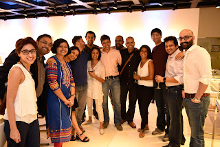 Young leaders of the South Asia Bridge Initiative (SABI) during a tour  of Sifani Gallery,Sifani's flagship store while they were in  Sri Lanka for the Young Global Leaders event  of the World Economic Forum