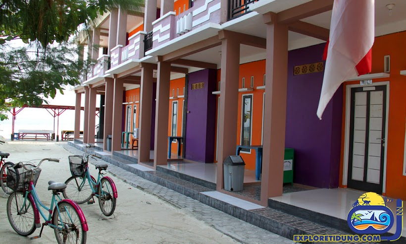 penginapan dan paket wisata pulau tidung kepulauan seribu selatan