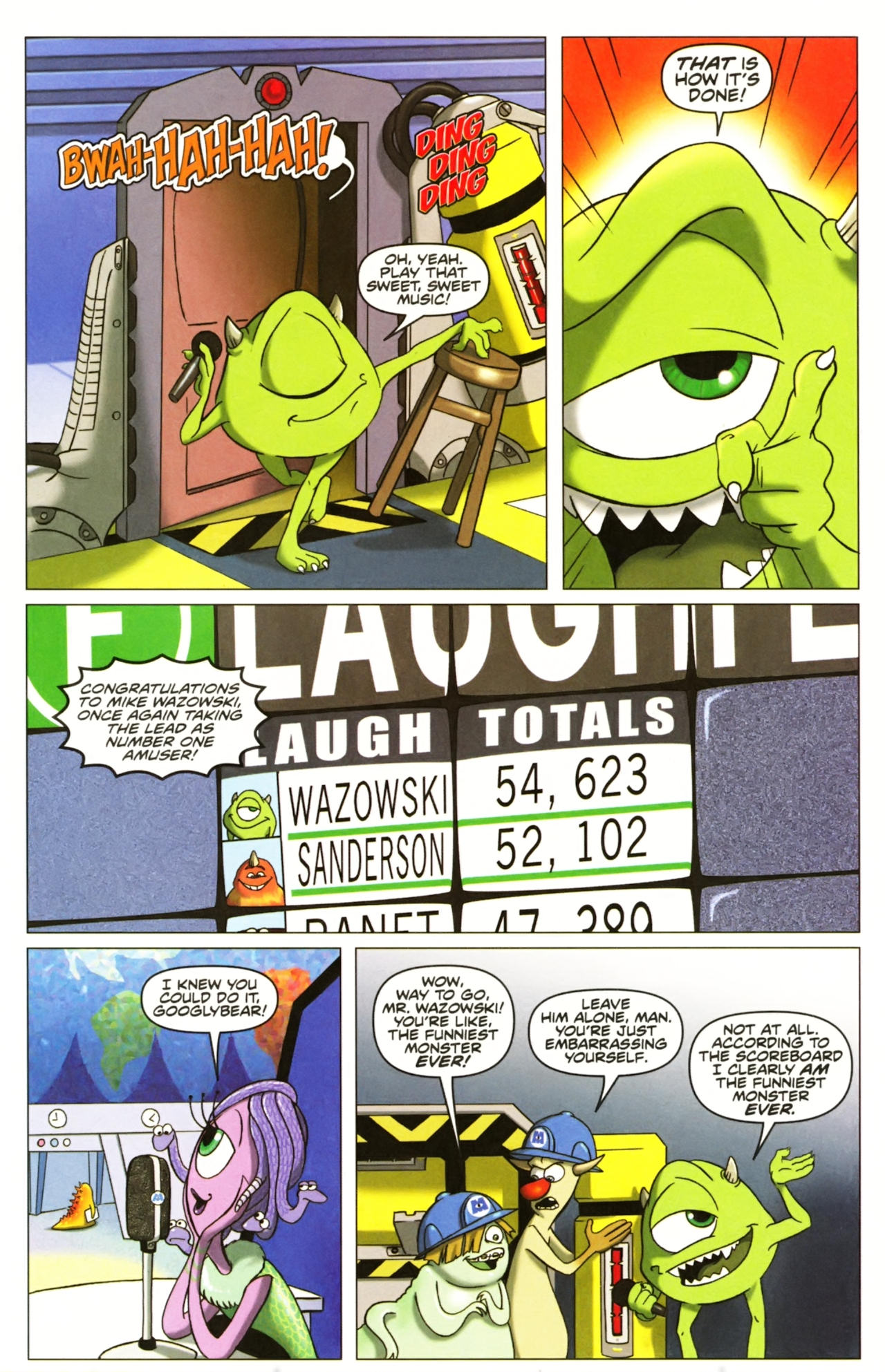 Comic Monsters, Inc: Laugh Factory issue 1