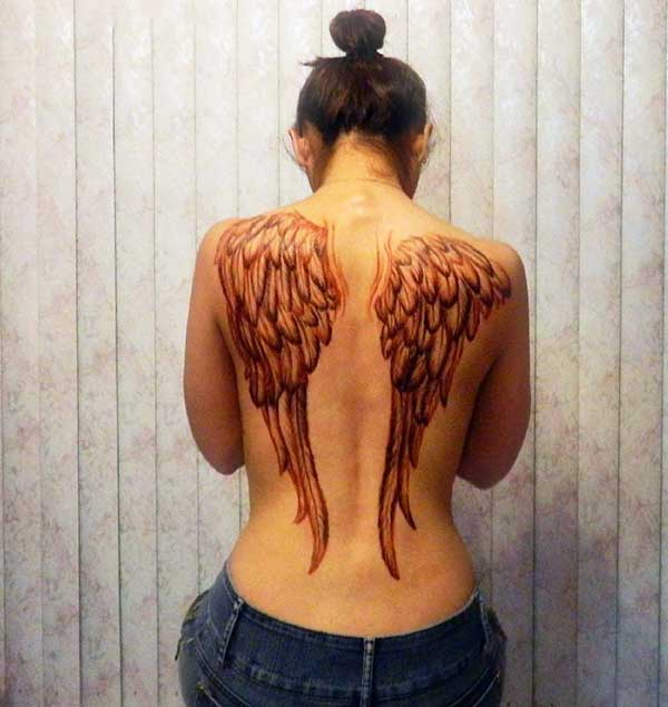 wing tattoo art
