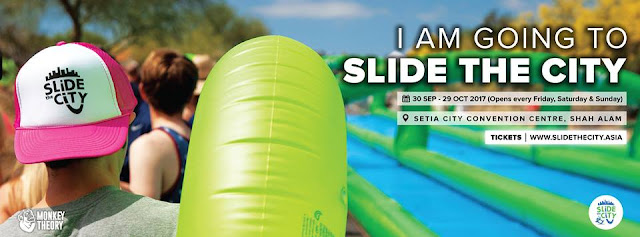 Lets Enjoy Slide City this coming September till October!