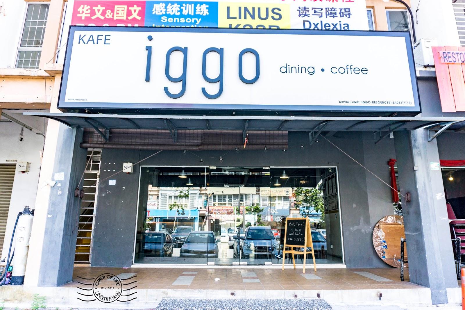 Cafe in Setia Alam, Selangor iggo Cafe