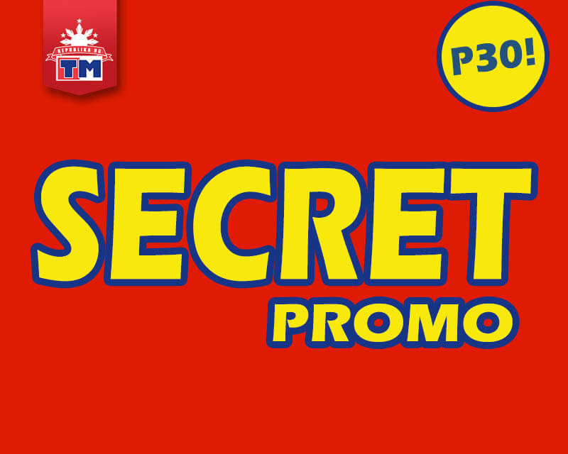 TM Secret Promo –7 Days Unli Call and Text + Facebook for 30 Pesos