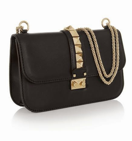 c6336ddc2fc3 Valentino Glam Lock Medium Leather Shoulder Bag - US$2,200 (Net-A-Porter)