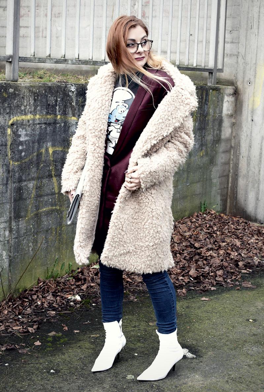 Outfit mit weißen Schuhen, weiße Schuhe von H&M