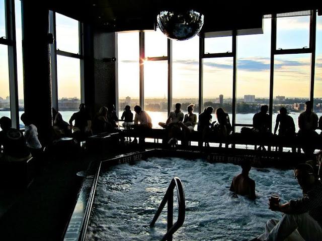 Balada Le Bain em Nova York | Festa e Piscina