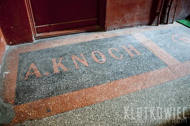 Kalisz: A. Knoch 1912 - posadzka