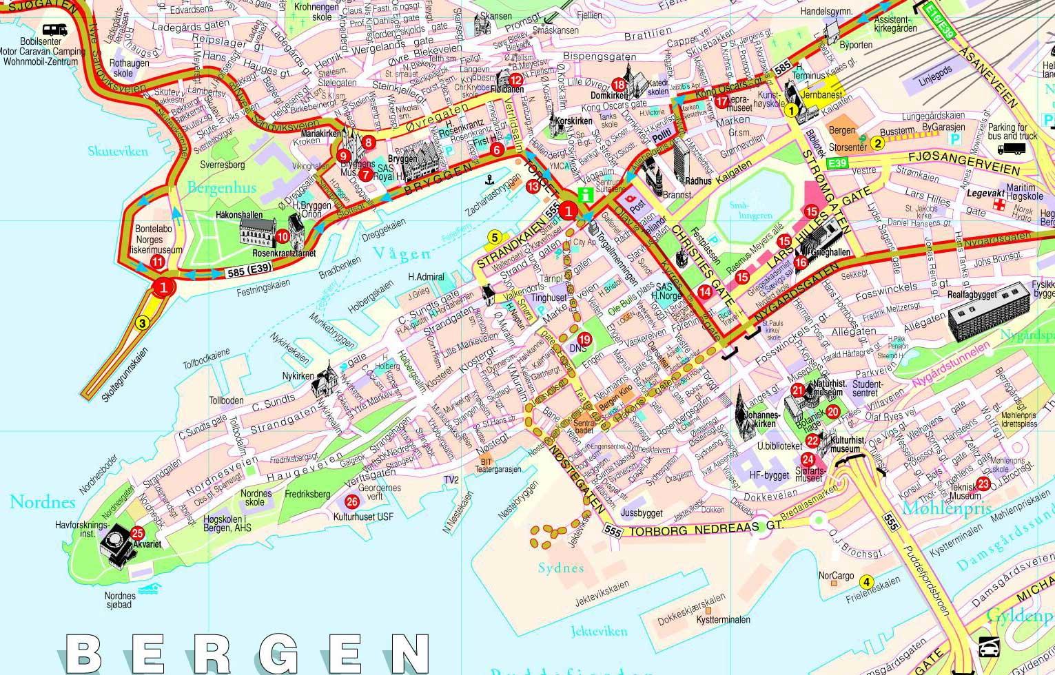 kart bergen by Kart over Norge By Regional Provinsen kart bergen by