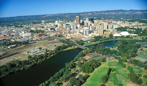 Australien Adelaide city view