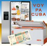 refrigerador y freezer para cuba