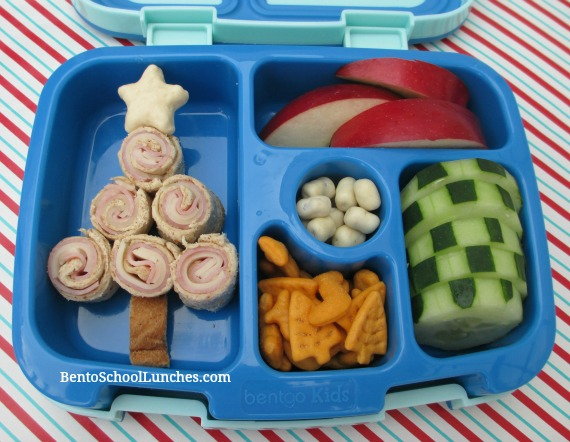 Christmas Tree Bento Lunch