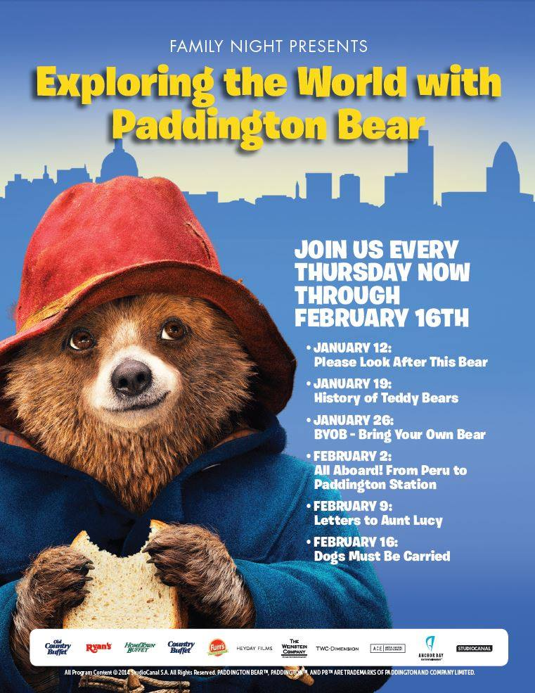 Ovation Brands Paddington Bear Giveaway