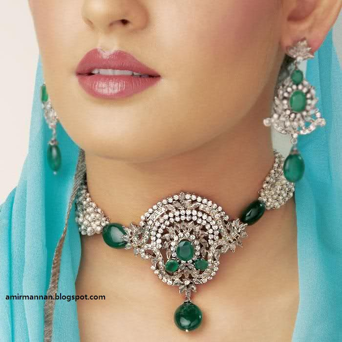 Pakistan Fashipn Bridal Wedding Jewellery Collection 2013