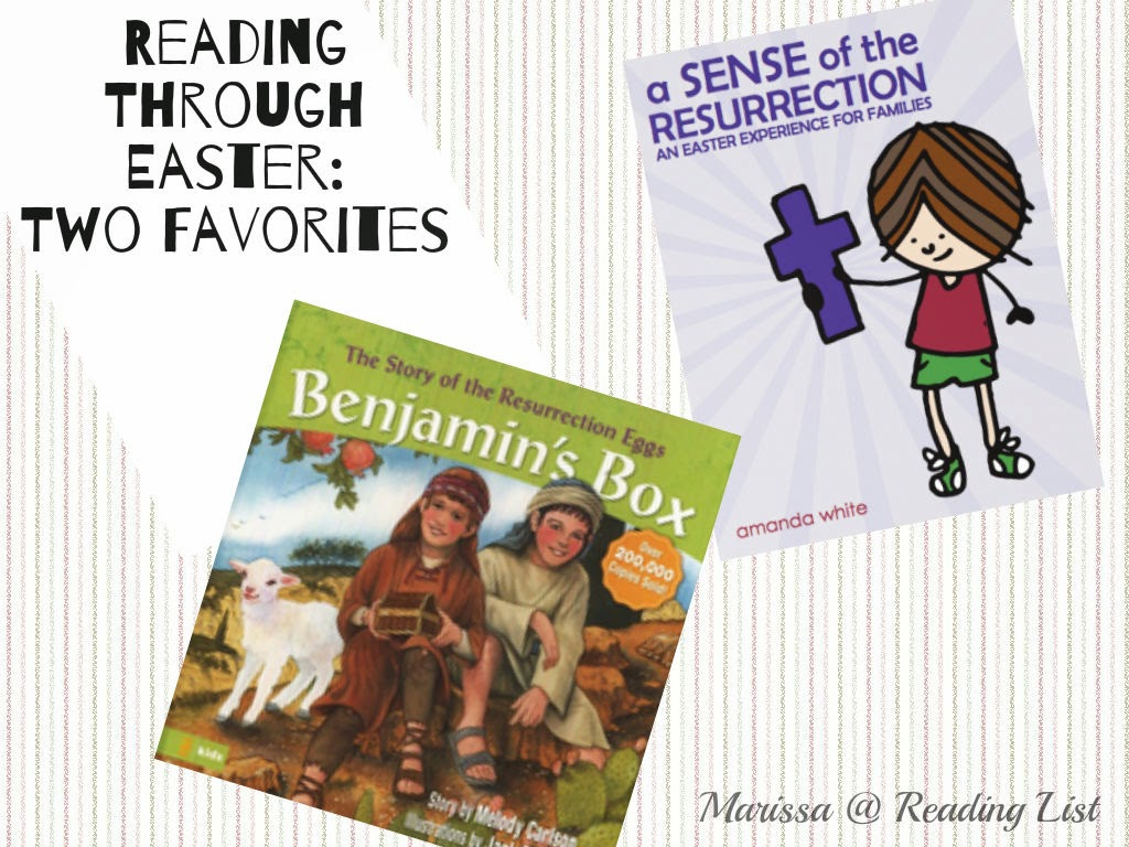 Reading through Easter  Children's Corner {Reading List}
