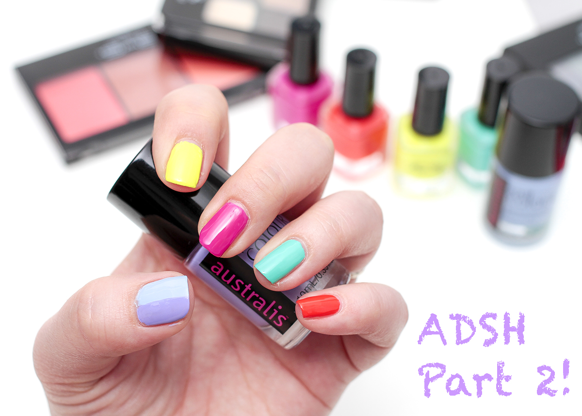Miss Shop & Australis Nail Polishes