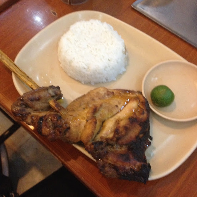 Chicken inasal at Mang Inasal
