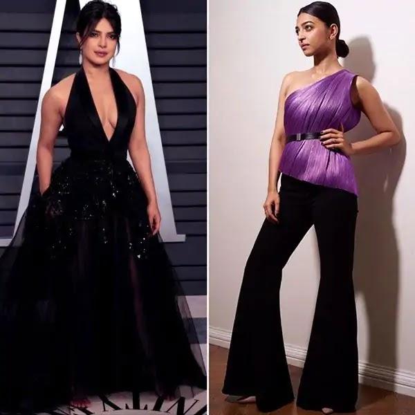Best-dressed celebs: Priyanka Chopra & Radhika Apte