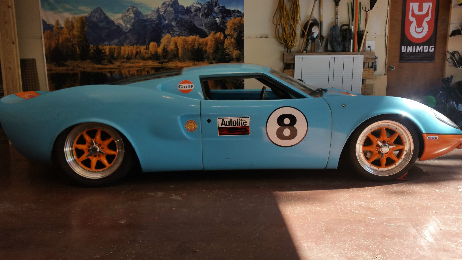 daily turismo gulf livery 1973 ford gt40 replica. Black Bedroom Furniture Sets. Home Design Ideas